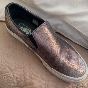 Vans slip on size 8 rarely worn